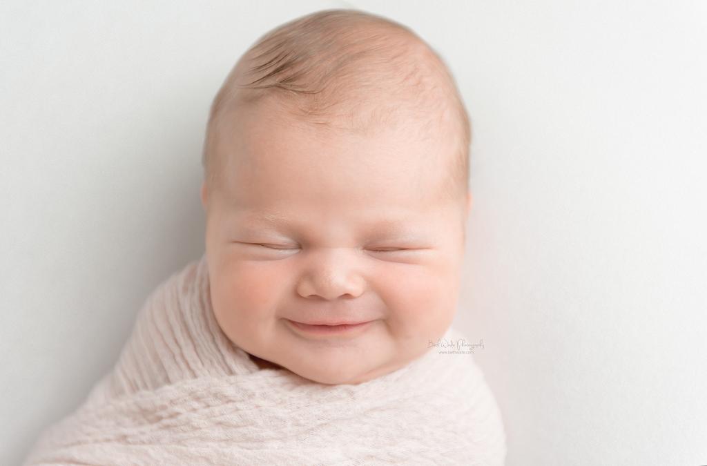 baby girl makes family of 3  {plaza midwood newborn photographer}