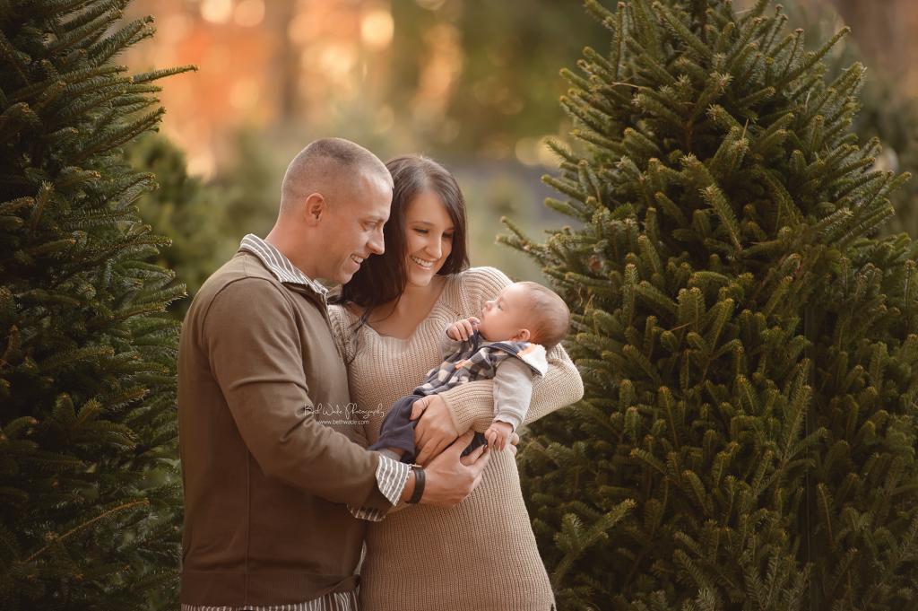 christmas holiday photos ~ dreamy light {rock hill sc baby photographer}