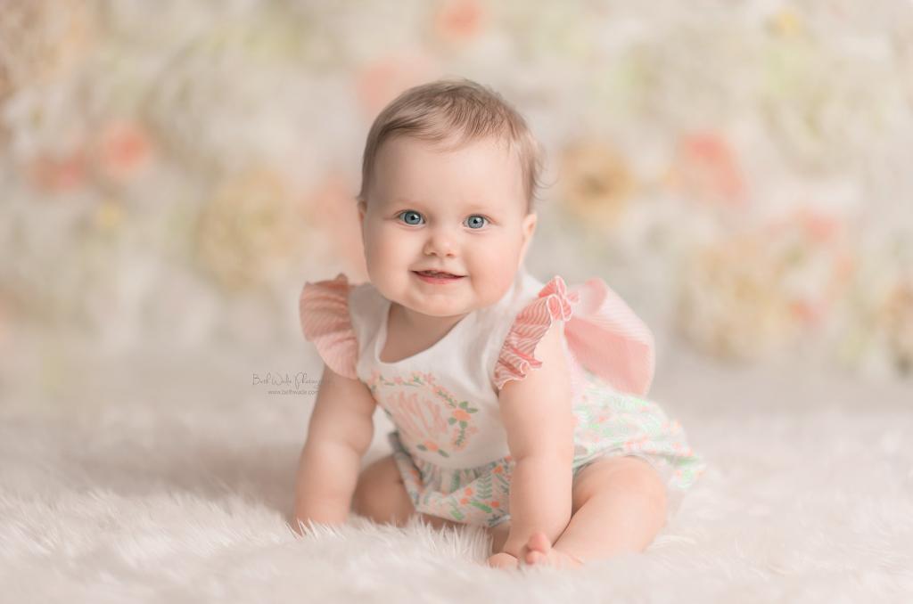 baby girl's first birthday {arboretum family photographer}