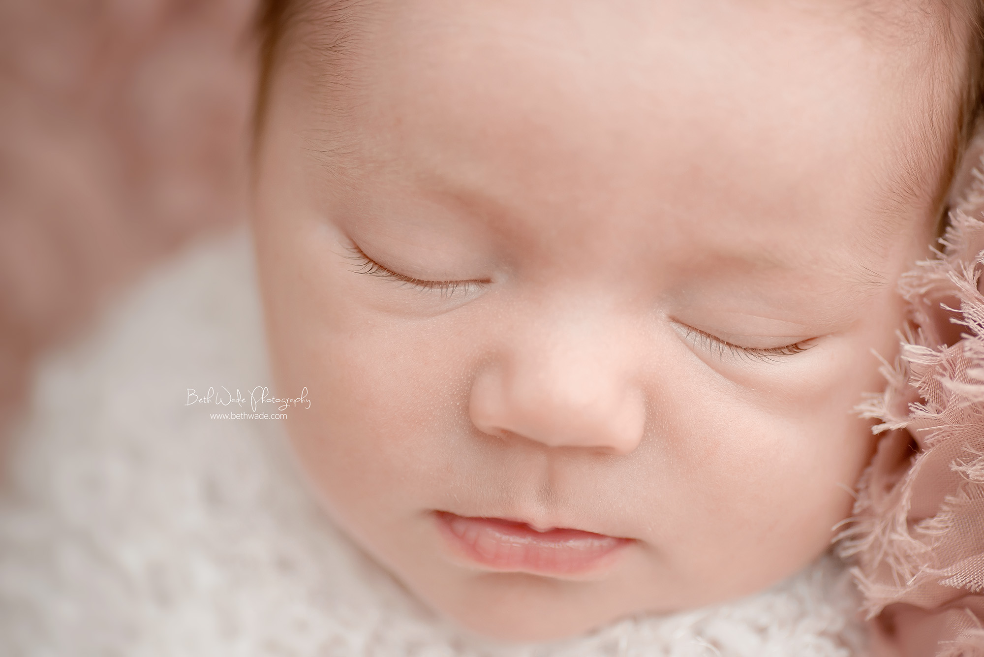 newborn smiles! 12 day old girl ~ family of 3 {charlotte baby photography}