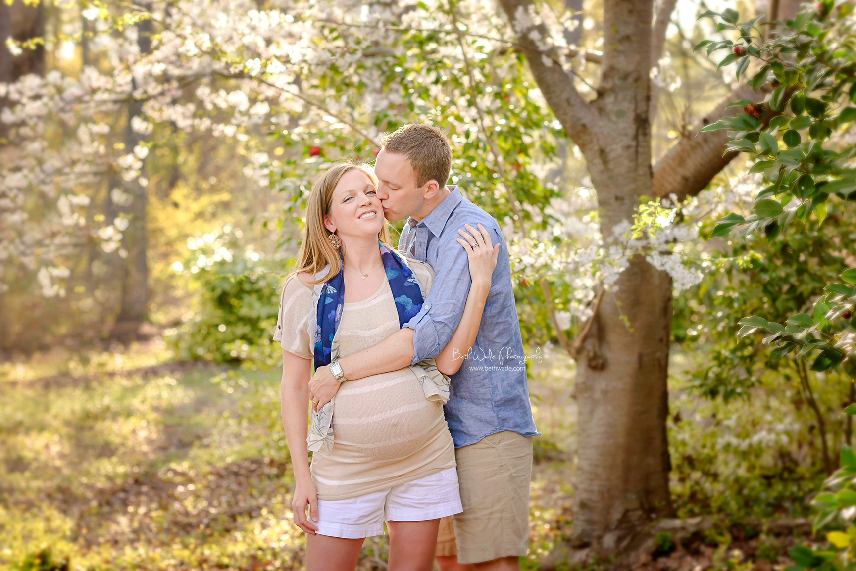 springtime pregnancy ~ almost family of 5 {charlotte maternity photographer}