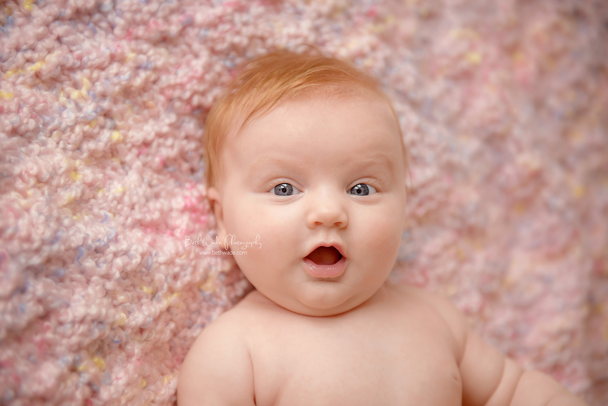 red headed baby girl E is 3 months old! ~ family of 5 ...