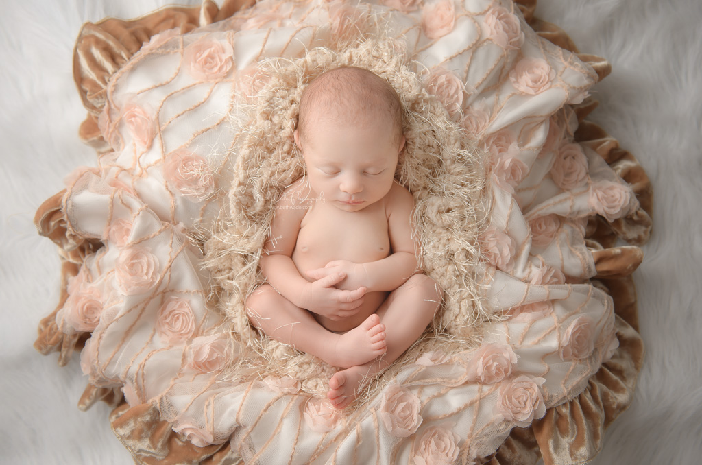 sleepy baby girl W ~ 9 days young {charlotte nc newborn photography}