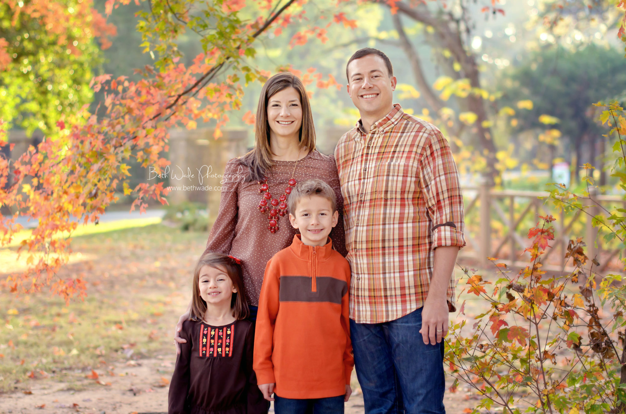 autumn holiday photos {charlotte family photographer}