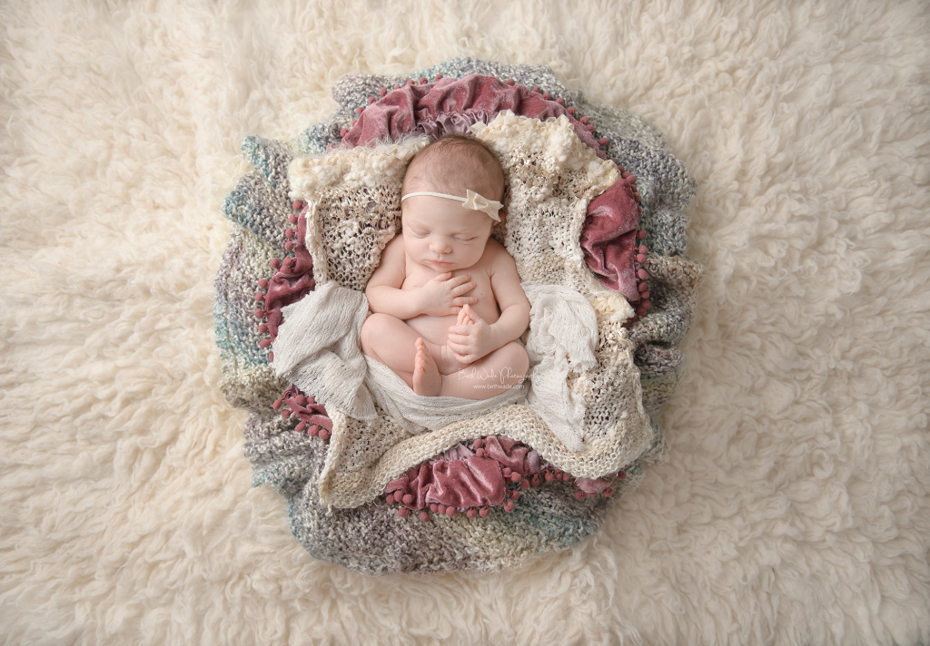 sweet baby girl S ~ 9 days new {fort mill newborn photographer}