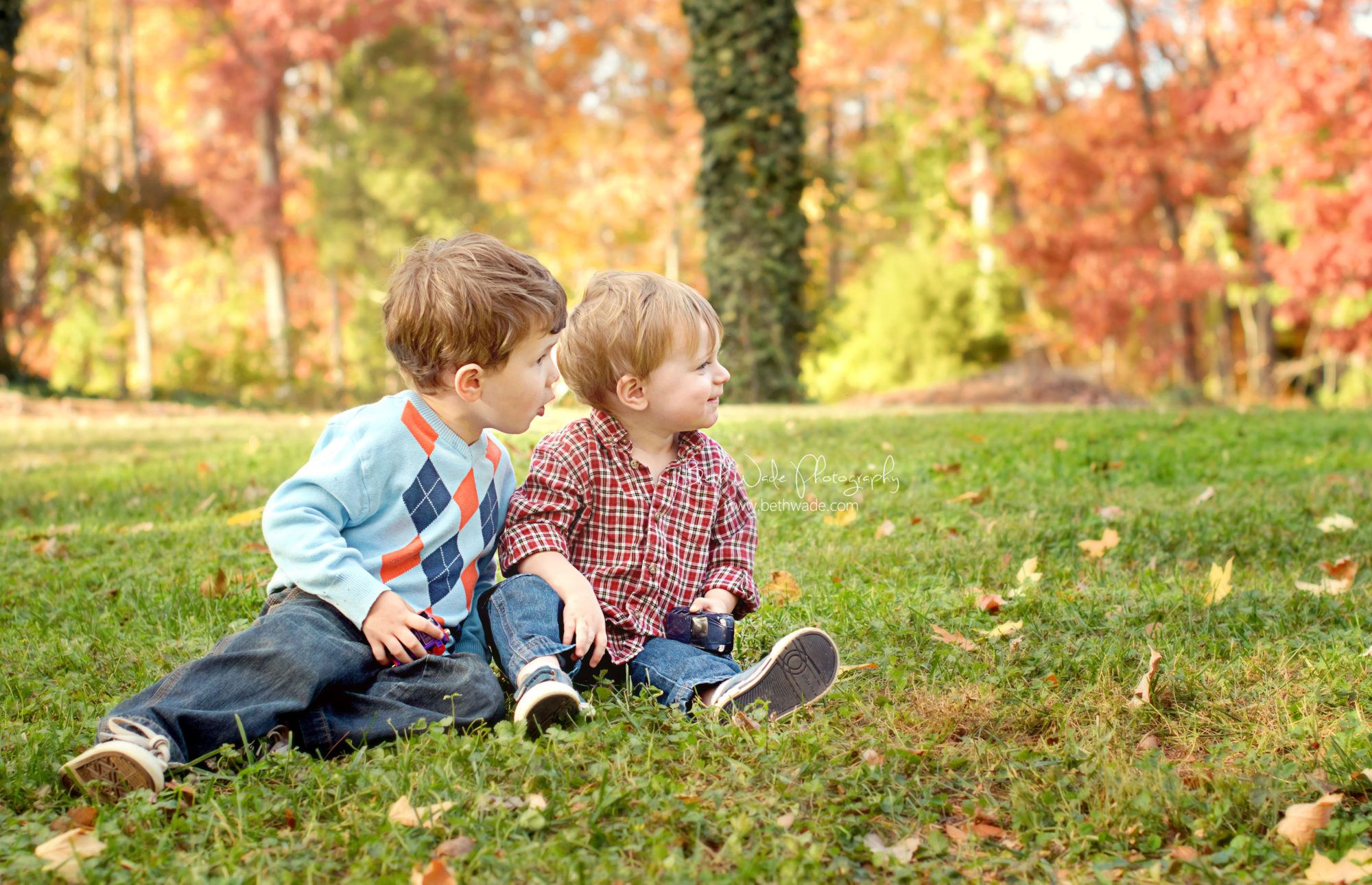 my boys for the holiday card {charlotte family photographer}