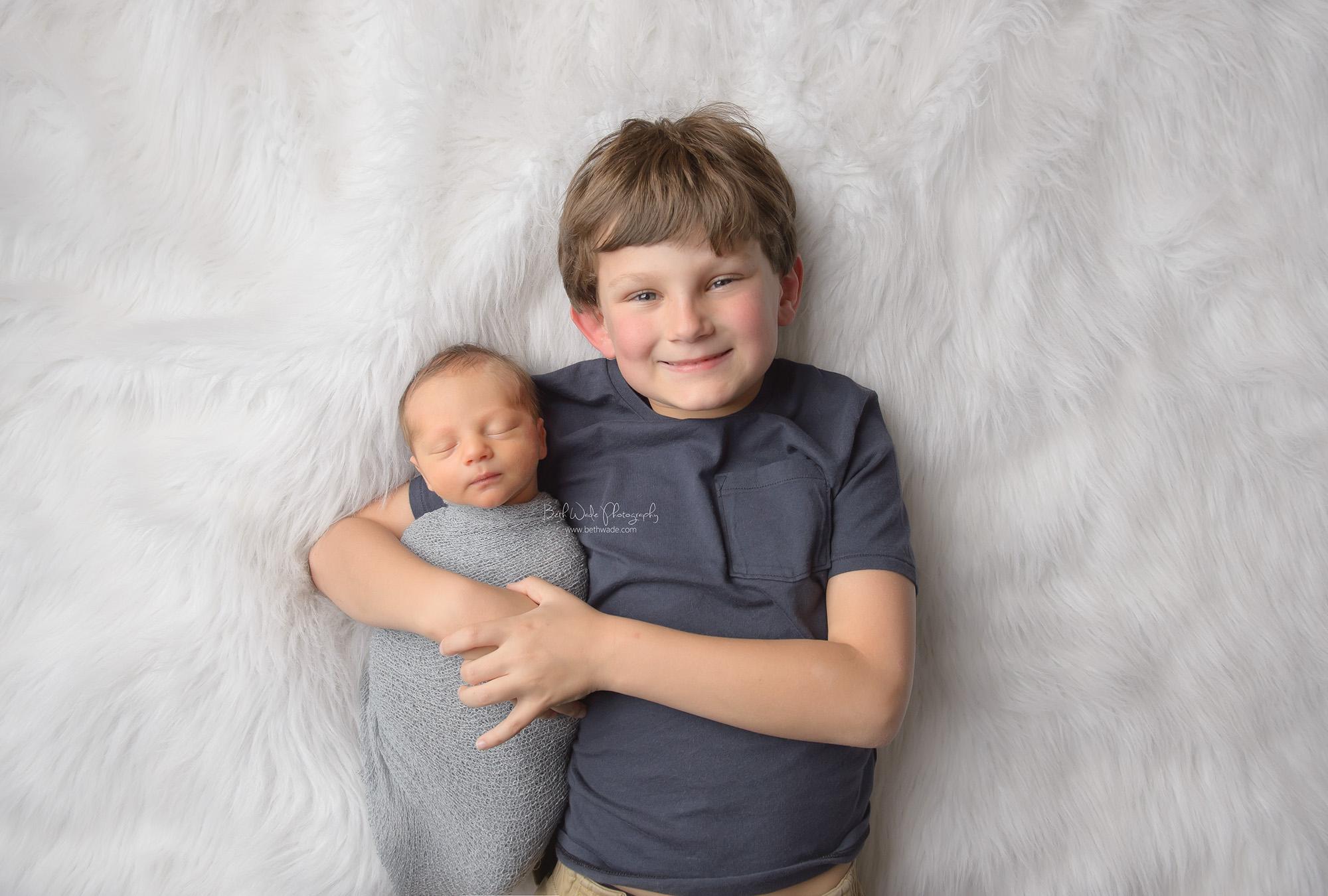 baby boy J ~ happy smiles at 8 days new {newborn photographer charlotte nc}