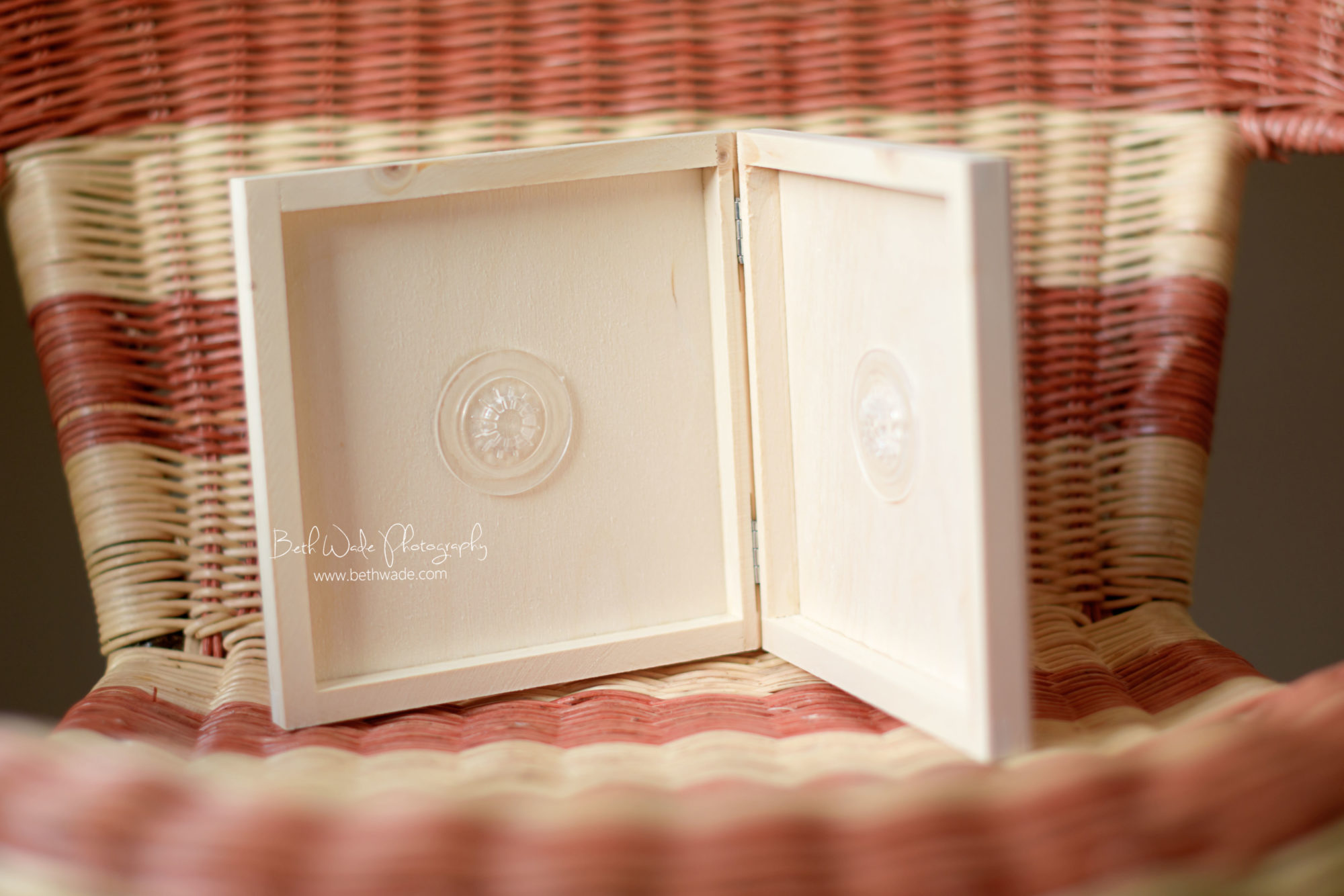 Handmade Natural Wood Cd Case Charlotte Family
