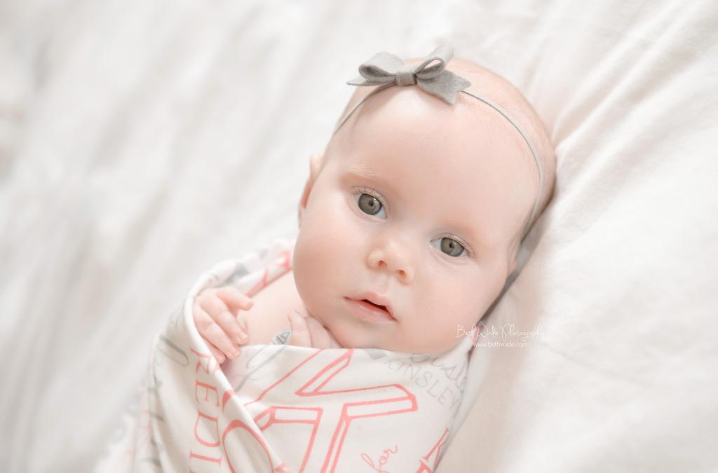 surprise baby sister ~ family of 4  {steele creek newborn photographer}