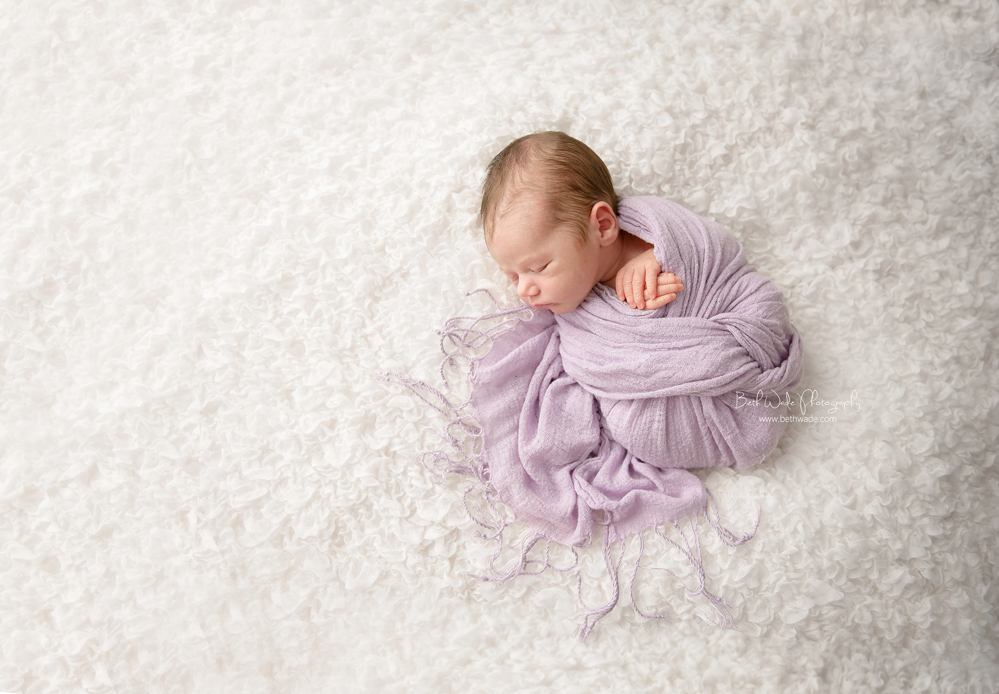 7 day old baby girl ~ family of 3 {newborn photographer charlotte}