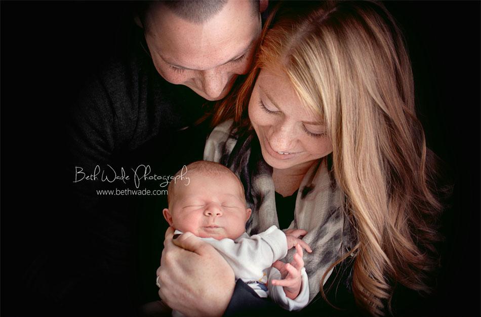 6 days old baby girl {charlotte newborn photographer}