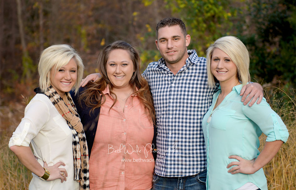 siblings! big brother and sisters {charlotte family photographer}