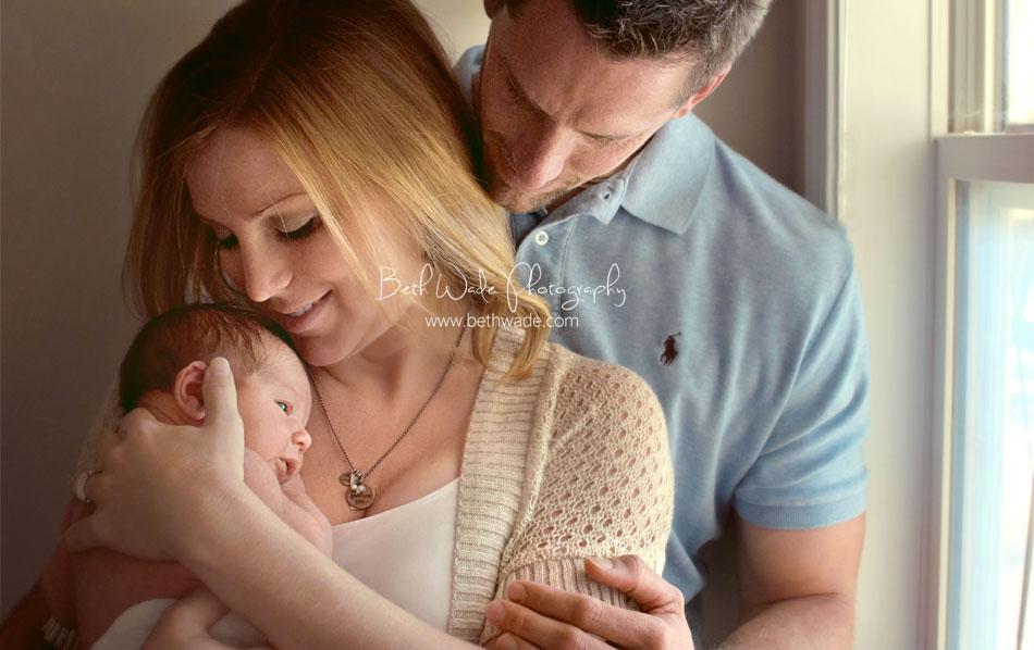 7 day old baby boy {charlotte newborn photographer}