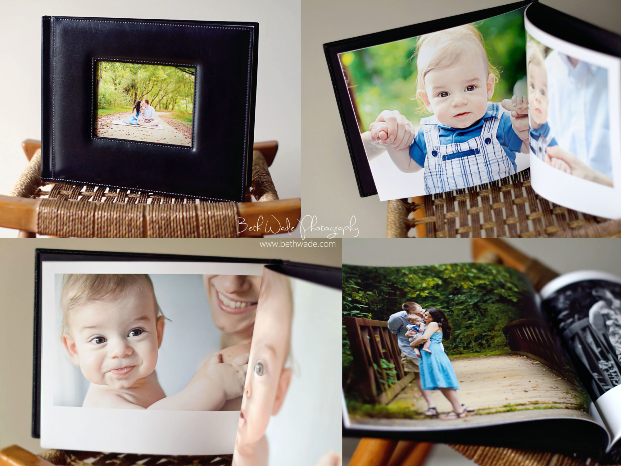 proof album with digital image CD {charlotte family photographer}
