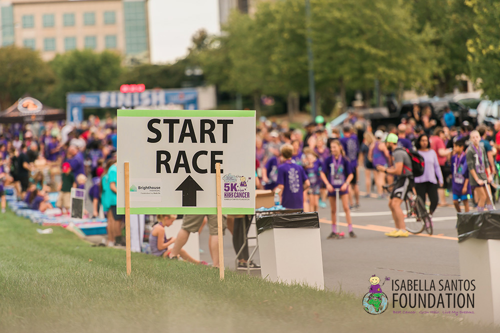 isabella santos foundation - 2017 5k for kids cancer {charlotte professional photographer}