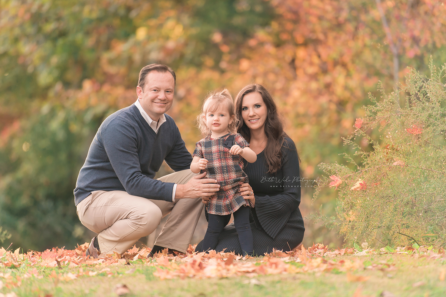 almost 2! autumn family photos {south charlotte baby photography}