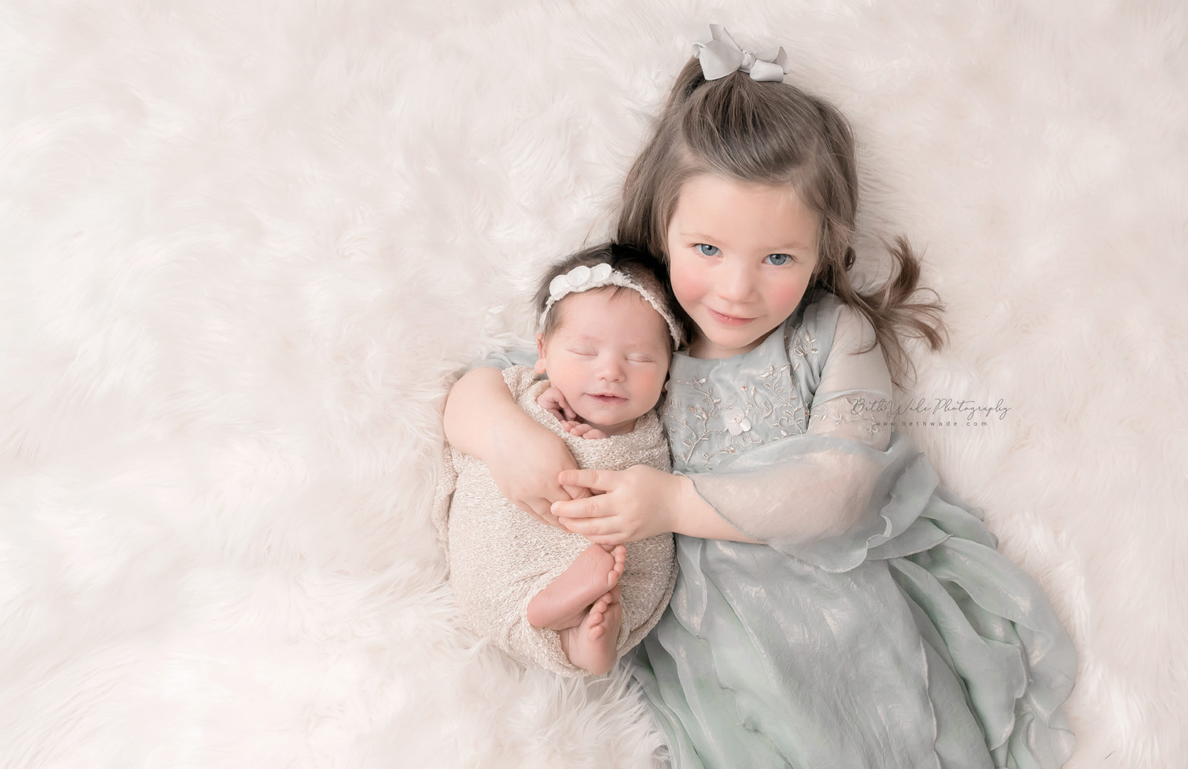 baby sister makes 4 {charlotte newborn photographer}