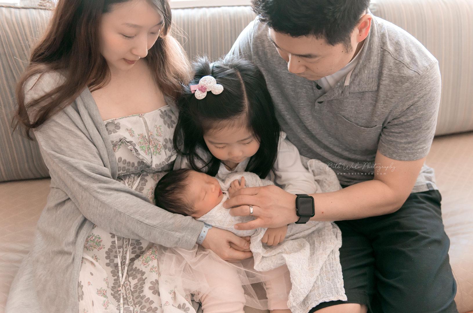 48 hour old baby boy video {presbyterian charlotte new born photos}