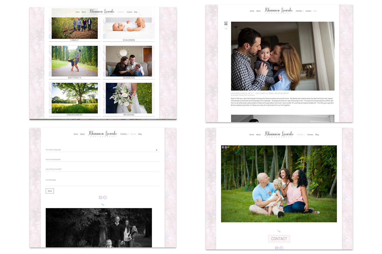 brand refresh+website design : rhiannon livardo {beth wade photography charlotte}