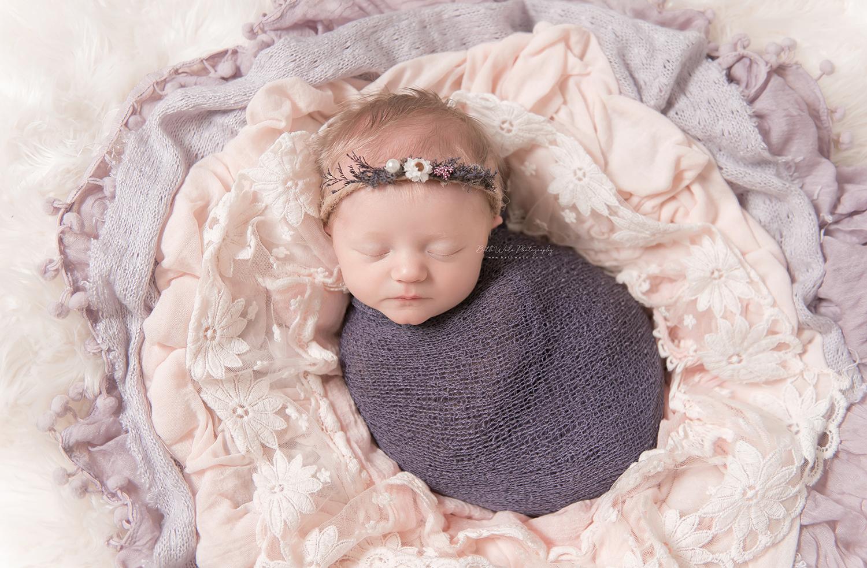 my niece+nephew ~ baby girl g {north carolina newborn photographer}