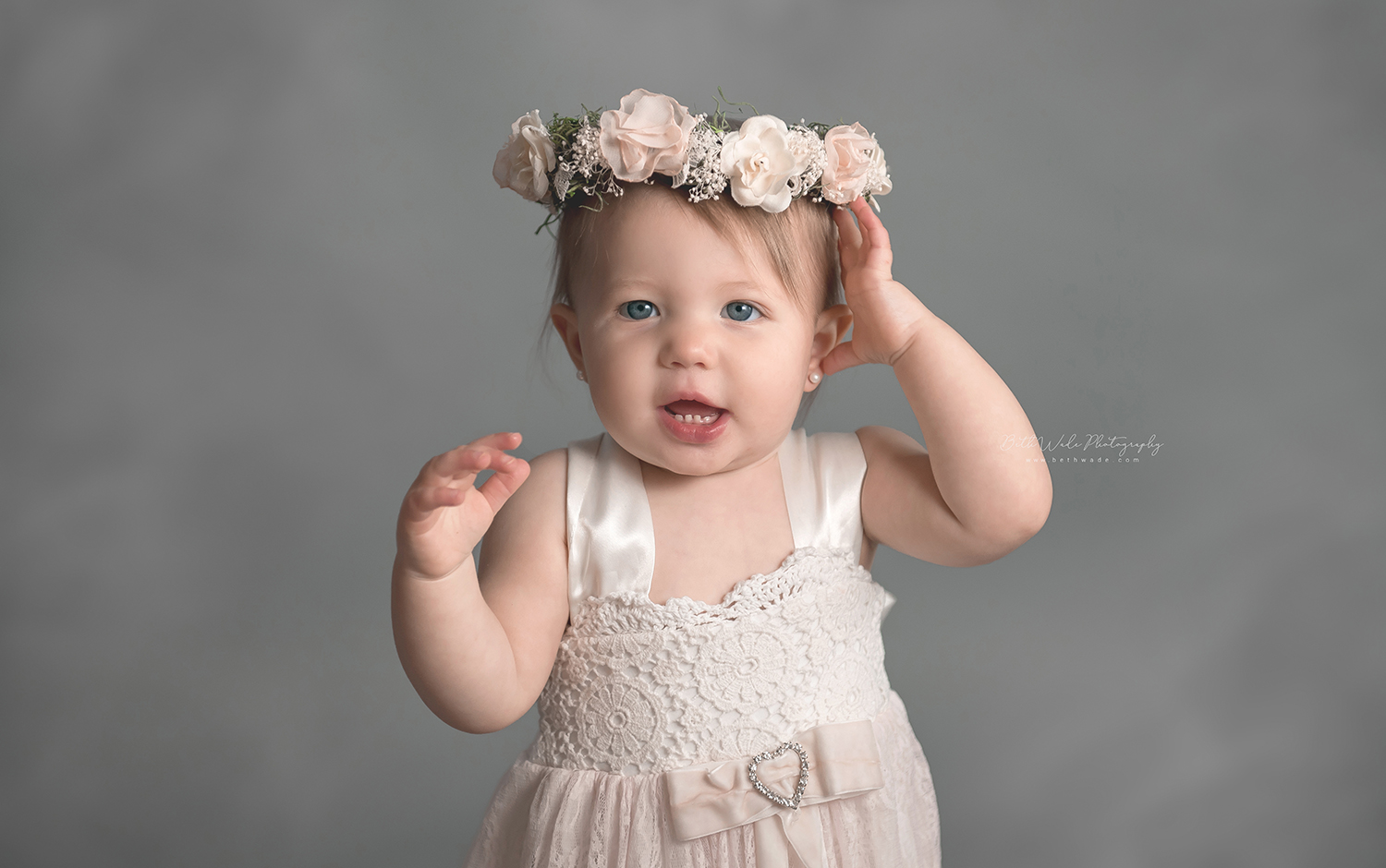 almost 1! first year milestone photos {lake wylie baby photographer}