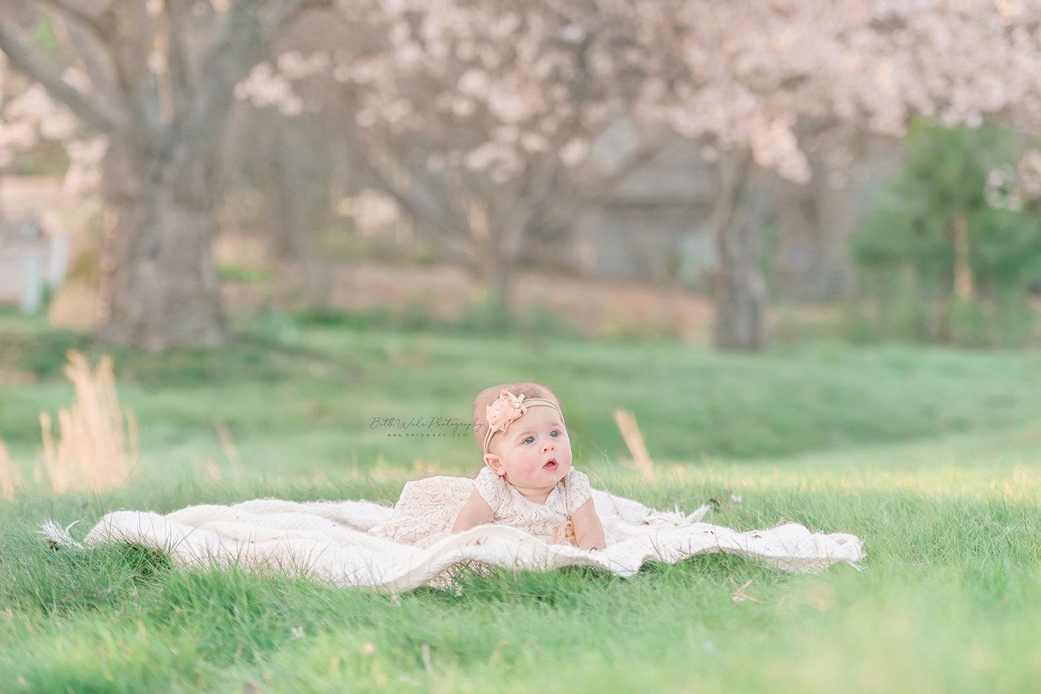 spring family of 3 photos {huntersville baby photographer}
