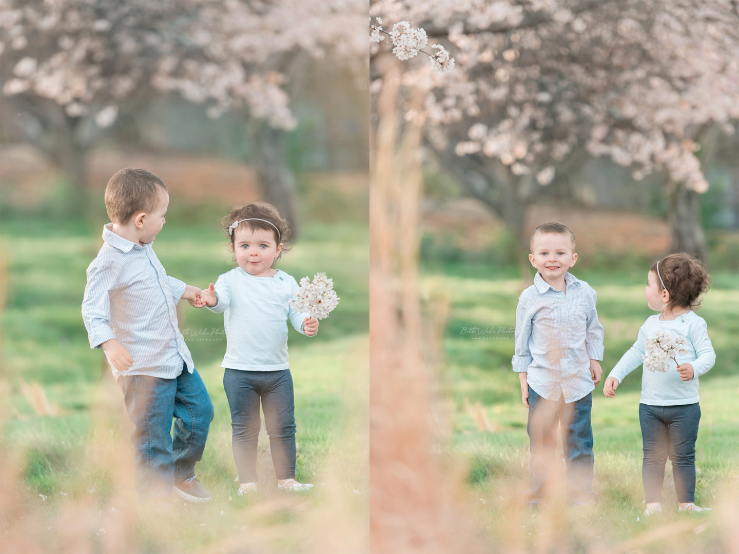spring family of 4 photos {concord baby photographer}