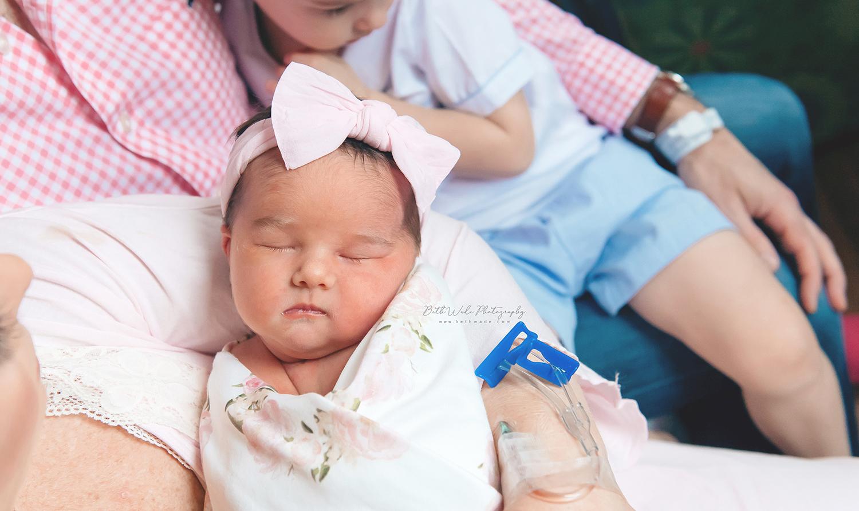 fresh baby girl video {cmc main charlotte newborn photographer}