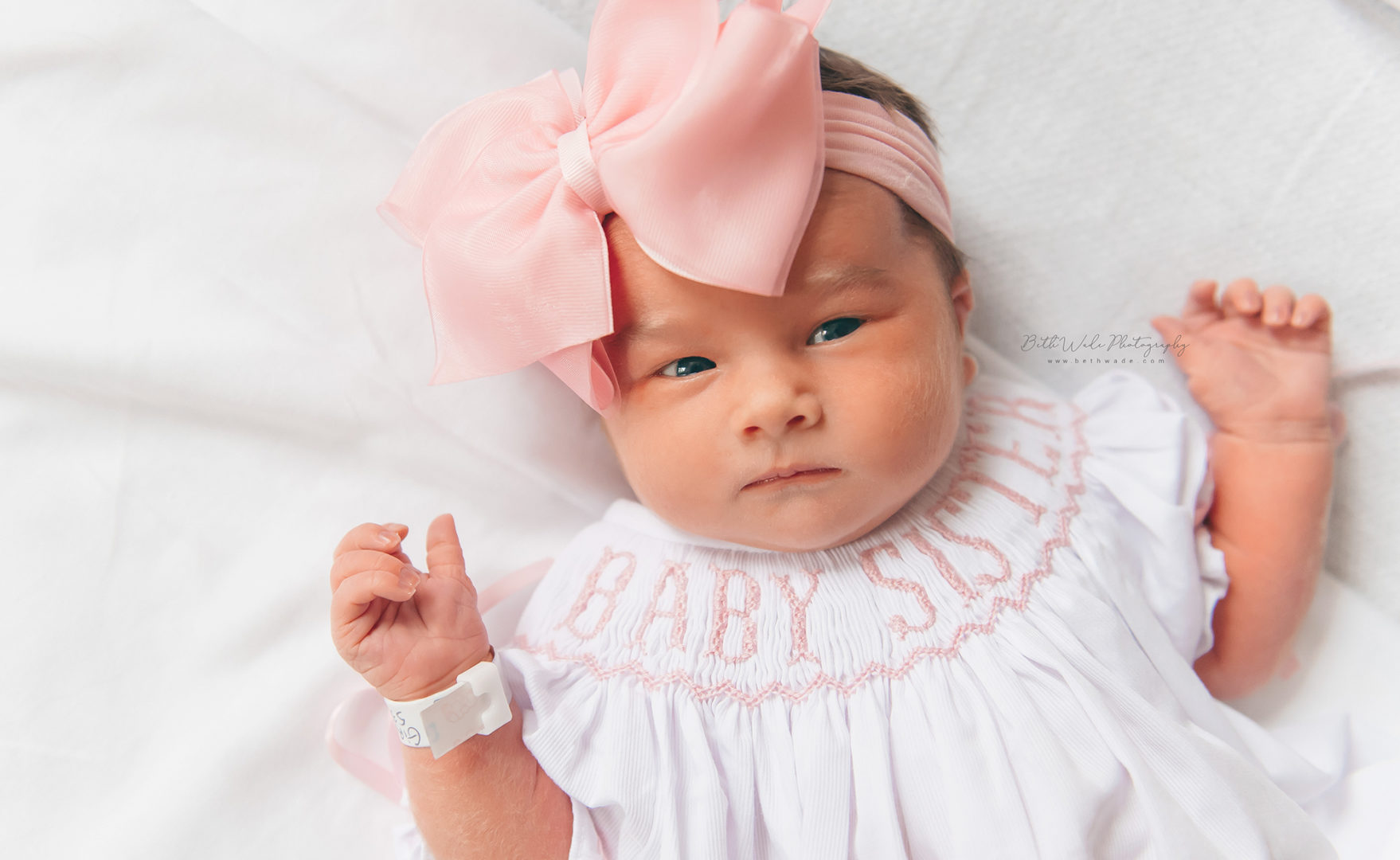 fresh baby girl video {cmc main charlotte newborn photographer}