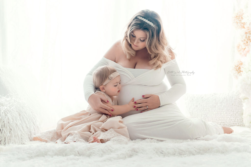 baby girl pregnancy ~ little sister {fort mill maternity photographer}