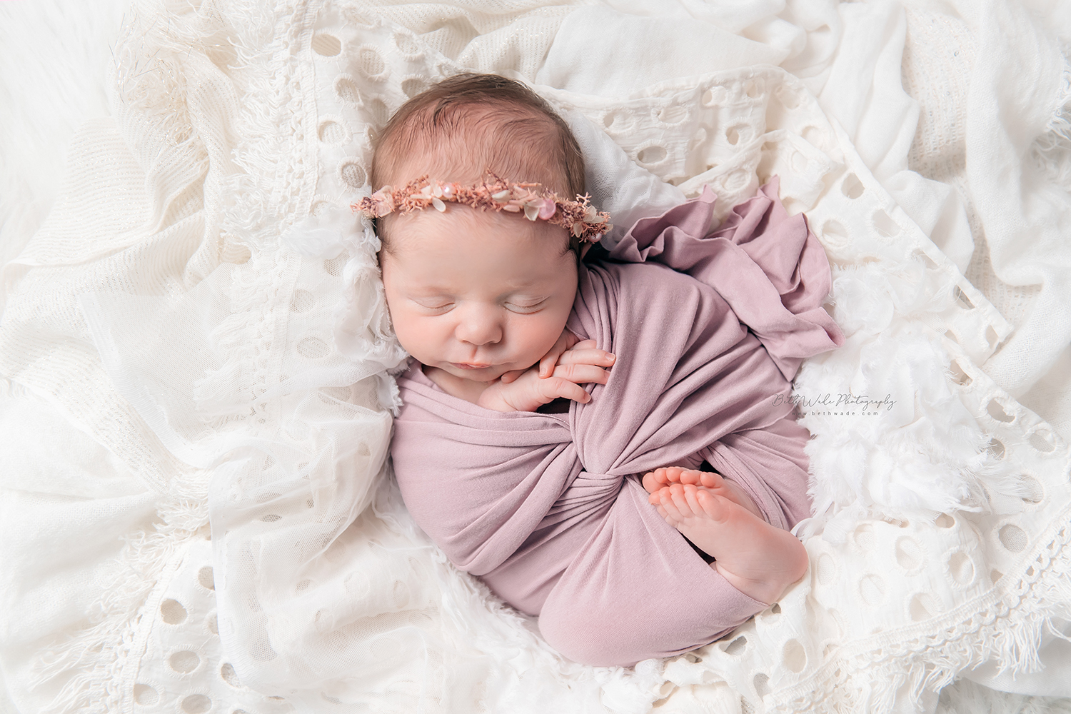 baby girl makes 3 {south charlotte newborn photo session}